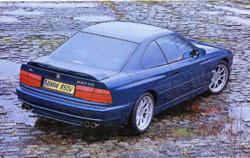 Exterior shot of BMW 850 CSi