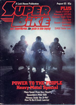 SuperBike Cover Story